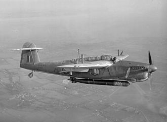 815 Naval Air Squadron - A Fairey Barracuda