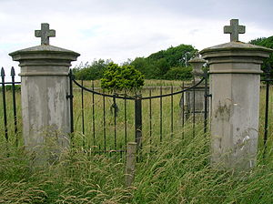 Monkton, Ayrshire - The cemetery gates