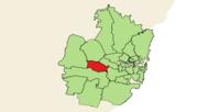 Fairfield LGA in der Metropolregion Sydney.png