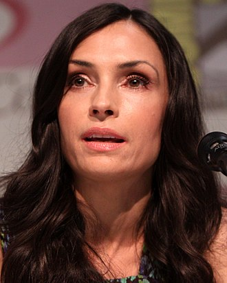 Famke Janssen - Famke Janssen at WonderCon, 2013