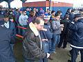 Fans Ride LIRR to Mets' 2014 Home Opener (13541431853).jpg