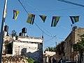 Fatah flags budrus Jan 19.jpg