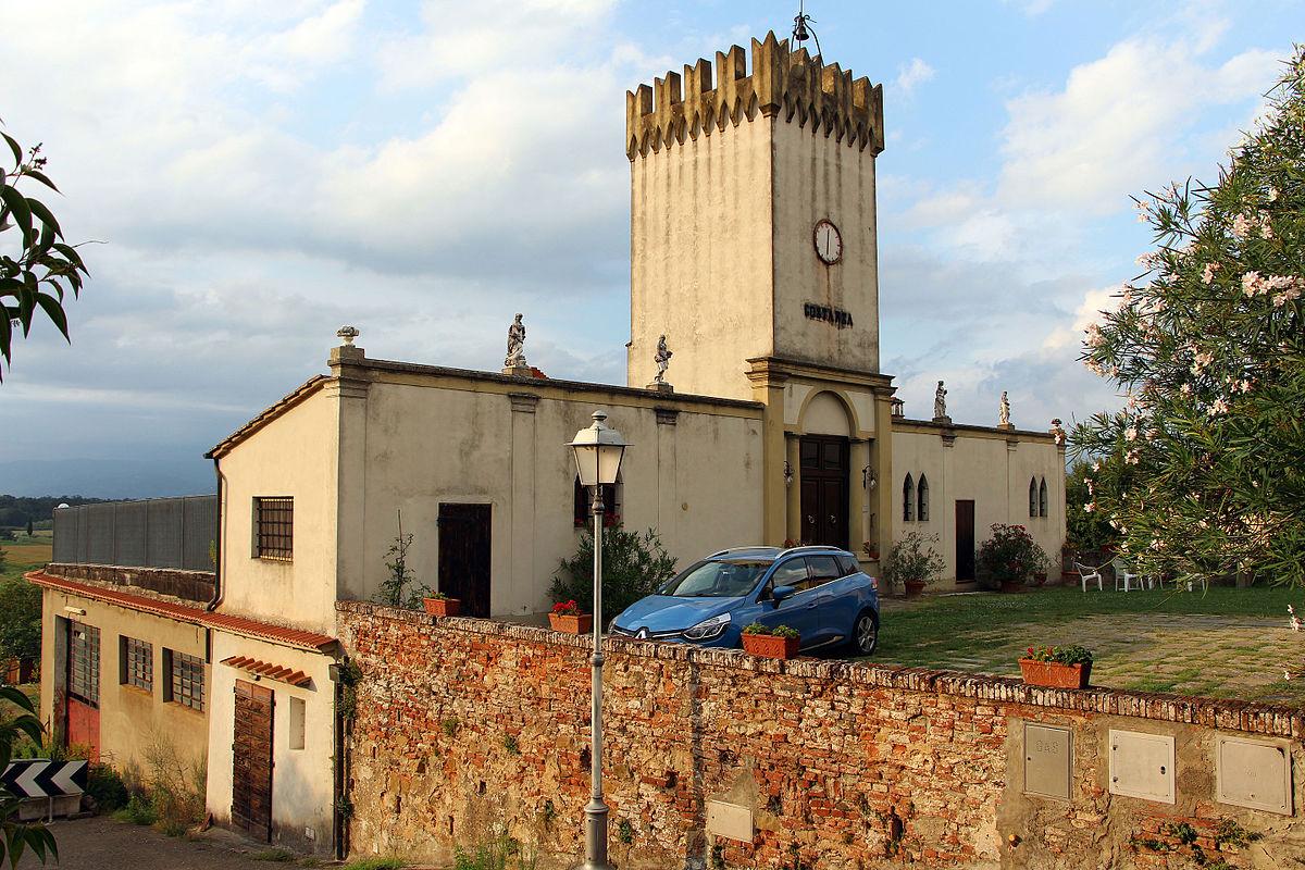 Villa medicea di stabbia wikip dia for Immagini di entrate di ville