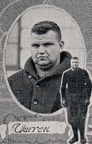 1920 College Football All-Southern Team - Fatty Warren of Auburn.