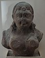Female Bust - Kushana Sculpture - Circa 2nd-3rd Century AD - Mathura - Uttar Pradesh - Indian Museum - Kolkata 2012-11-16 2092.JPG