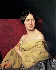 Anna Bayer, die zweite Gattin des Künstlers