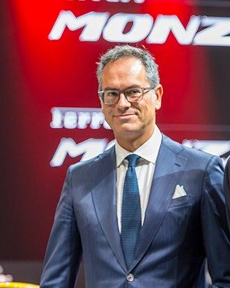 Flavio Manzoni - Flavio Manzoni at the Paris Motor Show 2018