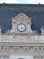 Festetics Palace main building, north wing clock, Keszthely, 2016 Hungary.jpg