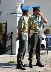 923f6d25370 Men of the Greek military police (Stratonomia)