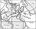 Festland und Meer im Jura vor 150 Mill. Jahren.jpg