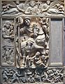 Feuillet et diptyque en cinq parties- L'empereur triomphant (Justinien?), Constantinple, 1st half of 6th century (3836867751).jpg