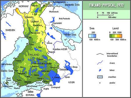 Finland I Mellemkrigstiden Wikipedia Den Frie Encyklopaedi