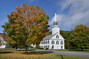 Townshend, Vermont - First Congregational Church and Meetinghouse