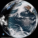 First Full Disk Image from GOES-17 as GOES West (40118037553).jpg