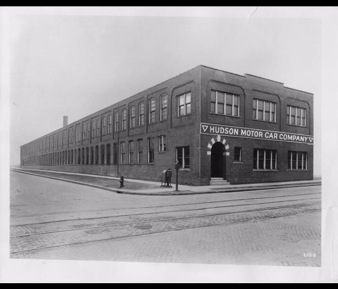 First Hudson Motor Car Company Factory
