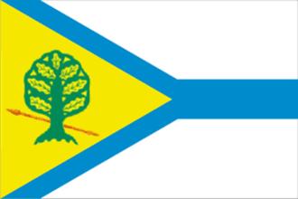 Krasny Sulin - Image: Flag of Krasny Sulin (Rostov oblast)