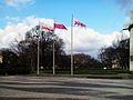 Flags, pl. Mickiewicza, Poznan.jpg