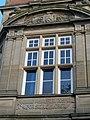 Fleming Memorial Hospital - window above main entrance.jpg