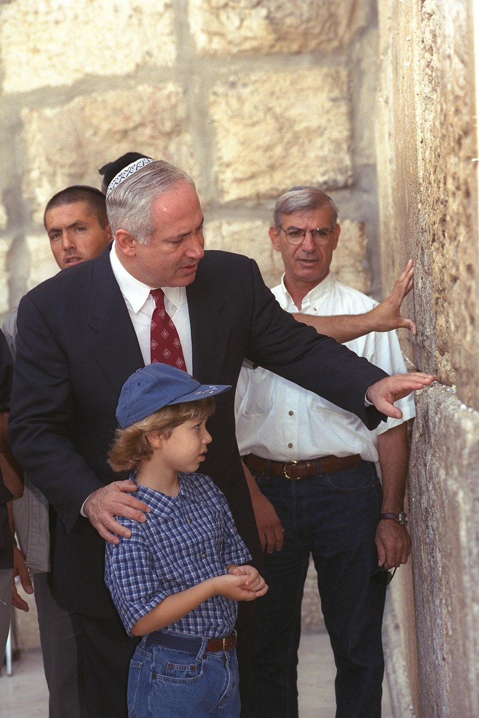 Flickr - Government Press Office (GPO) - P.M. Netanyahu Visiting the Western Wall