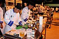 Flickr - Official U.S. Navy Imagery - A Sailor chop vegetables during the 37th annual Military Culinary Arts Competition..jpg