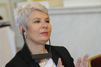 Croatian Democratic Union - Jadranka Kosor, president of the HDZn from 2009 until 2012; expelled from party membership on 18 April 2013