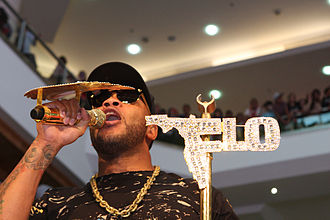 Flo Rida - Flo Rida performing live in 2012