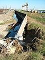 Floodwall Dennis Hwang, Charles Nelson tour hurricane damage, 10.18.05 80.jpg