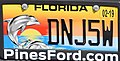 Florida 2019 Protect Wild Dolphins license plate.jpg