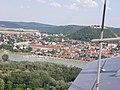 Flugaufnahme von Hainburg an der Donau - panoramio.jpg