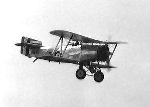 HMS Courageous (50) - Fairey Flycatcher