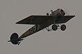 Fokker EIII Oblt Schildknecht Flyby 01 ThruDirtyWindow Dawn Patrol NMUSAF 26Sept09 (14599278832).jpg