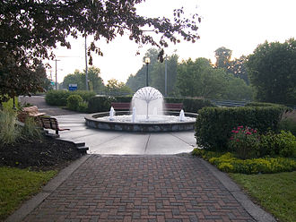 Cowansville - Water Fountain in downtown Cowansville