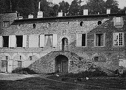 Le Château du Buisson au début du XXesiècle.