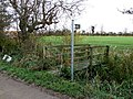 Footpath at Habertoft - geograph.org.uk - 620915.jpg