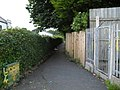 Footpath between Rampart Street and Banbridge Road - geograph.org.uk - 1400688.jpg