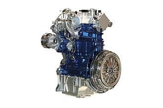 Ford EcoBoost engine - Image: Ford Eco Boost 1.0 L. Fox 002