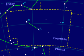 image illustrative de l'article Fourneau (constellation)