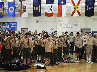 Scouting in Maryland - Fort Meade hosts Boy Scouts STEM day