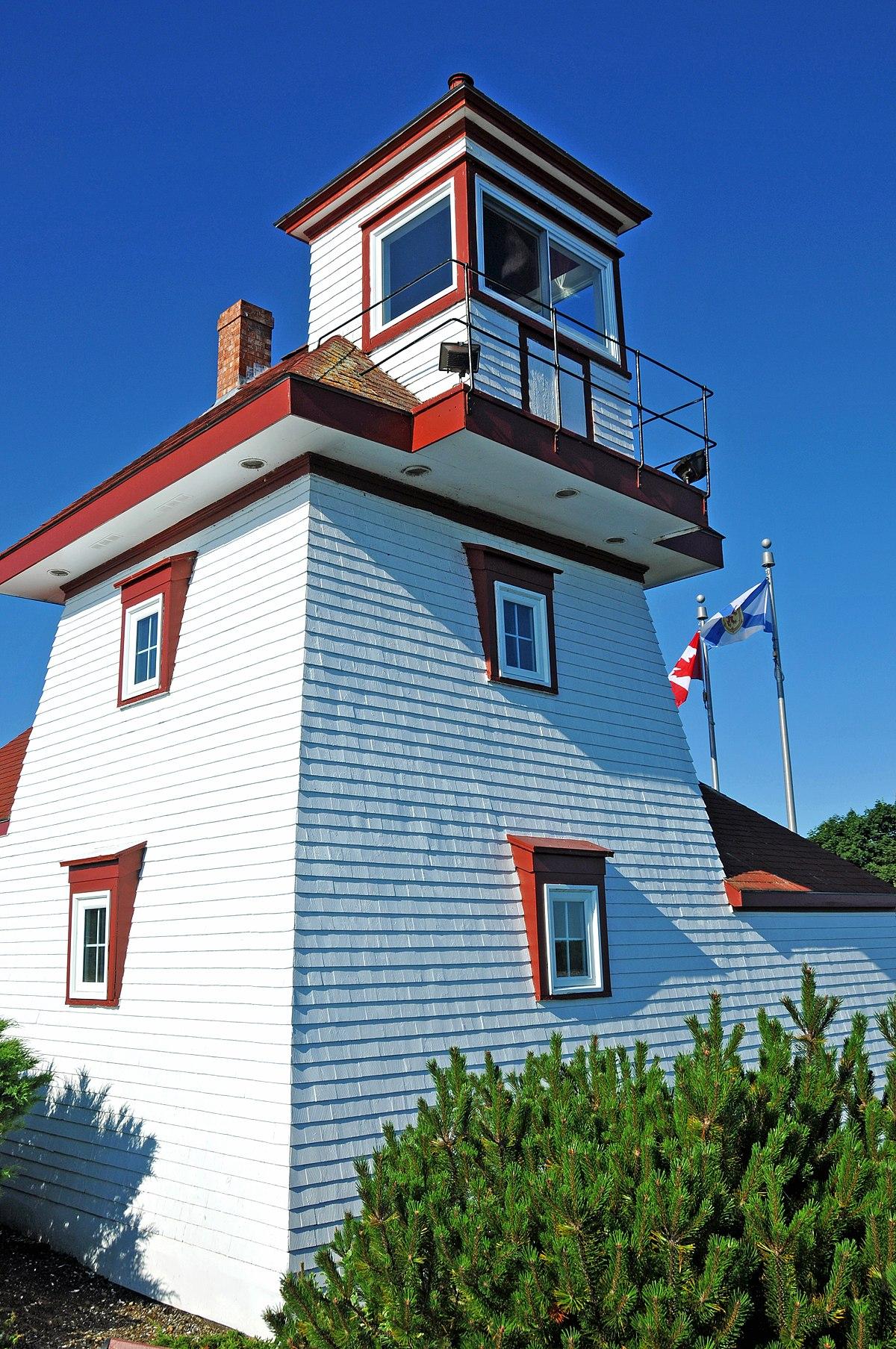 Fort Point Lighthouse Nova Scotia Wikipedia