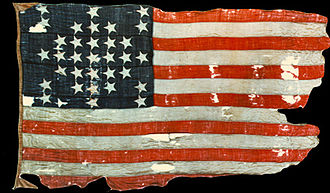 Battle of Fort Sumter - Fort Sumter Flag