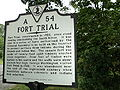 Fort Trial historic marker Bassett vicinity Henry County Virginia.JPG