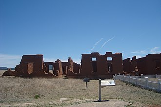 Fort Union National Monument - Image: Fort Union National Monument Ruins