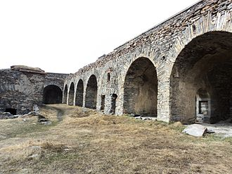 Mont Cenis - Remains of Forte Varisello.