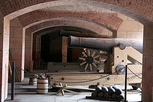 Canons at Fort Point