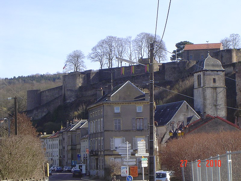 Fortress from Sierck-les-Bains