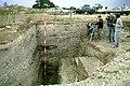 Fouilles du camp néolithique de Diconche - stratigraphie.jpg