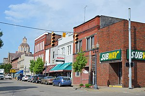 Martins Ferry, Ohio - Fourth Street downtown
