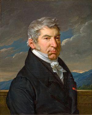 François-Xavier Fabre - François-Xavier Fabre, self-portrait, 1835
