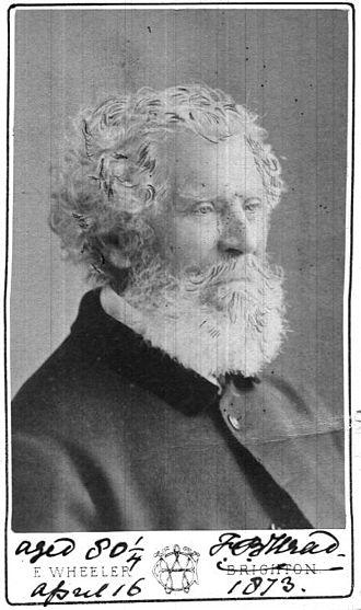 Francis Bond Head - Sir Francis Bond Head in 1873, aged 80.