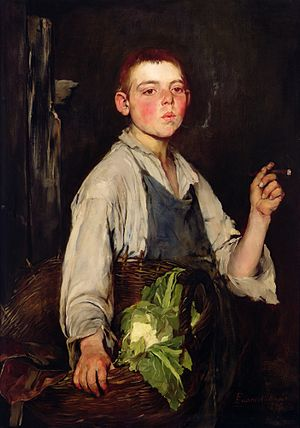 Frank Duveneck - Image: Frank Duveneck The Cobbler's Apprentice